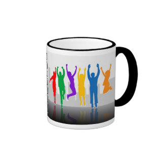 Business Success Ringer Coffee Mug