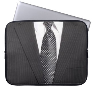Business Suit & Tie Laptop Sleeve