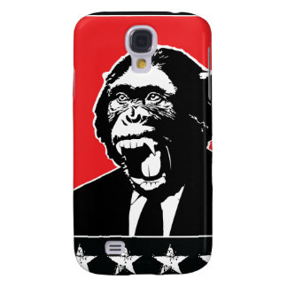 Business Suite Chimpanzee Samsung Galaxy S4 Cover