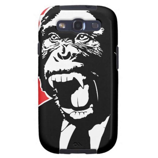 Business Suite Chimpanzee Galaxy S3 Cover