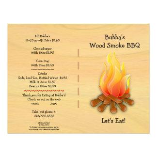 Business Supplies  BBQ Menu