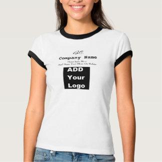 Business T-Shirt Add Logo black