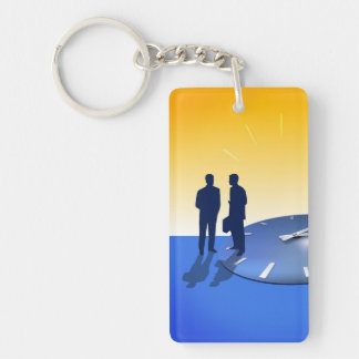 Business Talk Keychain