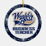 Business Teacher Gift Ornament