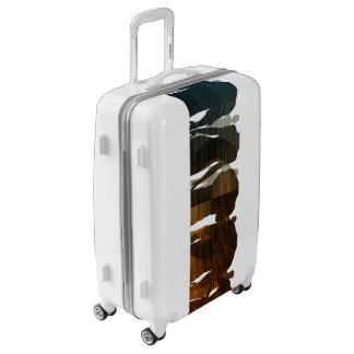 Business Team of Professionals Standing for Career Luggage