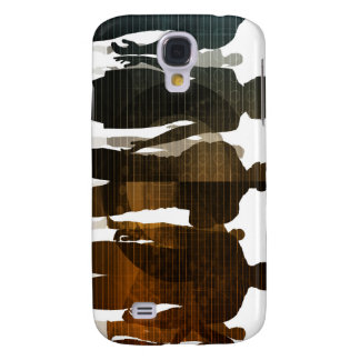Business Team of Professionals Standing for Career Samsung Galaxy S4 Case