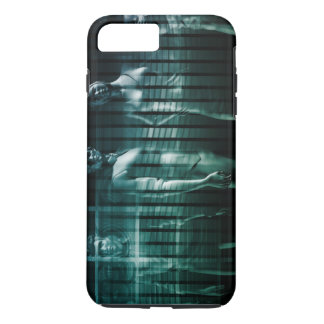 Business Team with Serious Expression iPhone 7 Plus Case