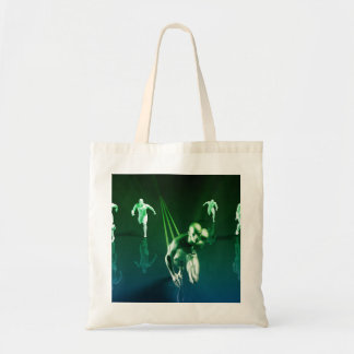 Business Technology Concept on Worldwide Report Tote Bag
