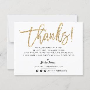 Royal Blue Thank You Cards Sparkle Thank You Notes Custom Thank You Card Printable Card Glitter Thank You Card Thank You Note