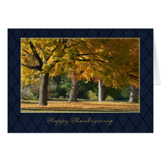 Business Thanksgiving Card at Zazzle
