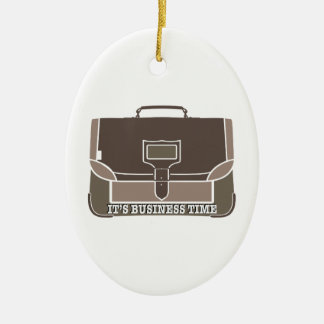 Business Time Christmas Ornaments