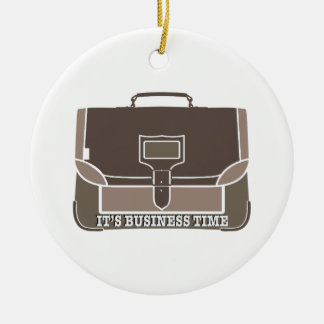 Business Time Christmas Tree Ornament