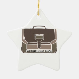 Business Time Christmas Tree Ornaments