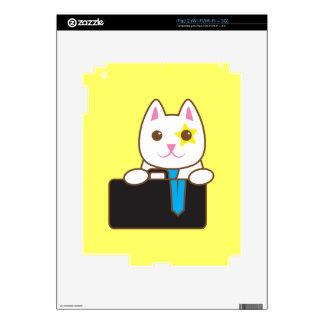 Business time Walnut cat iPad 2 Decal