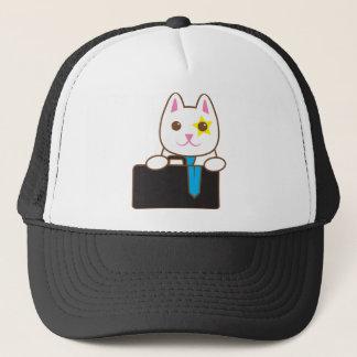 Business time Walnut cat Trucker Hat