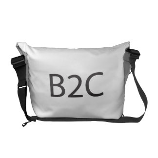 business to consumer.ai courier bag