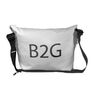 business to government.ai courier bag