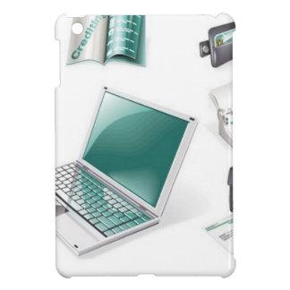 Business tools icons iPad mini case