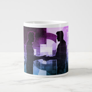 Business Training Management System as a Concept Large Coffee Mug