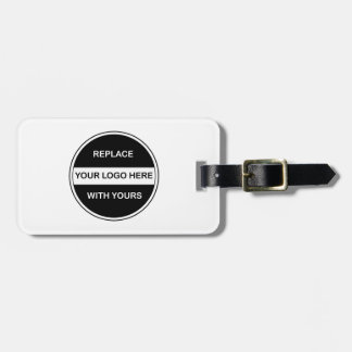 Business Travel Logo Luggage Tags