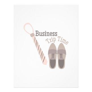 Business Trip Letterhead