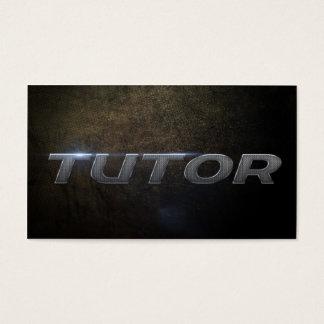 Business tutor card