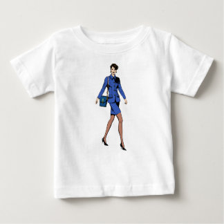 Business Woman Baby T-Shirt
