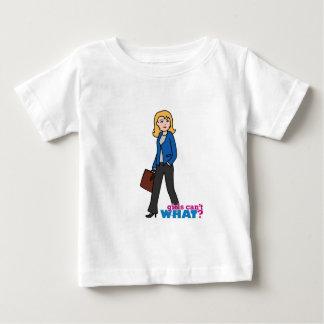 Business Woman - Light/Blonde Baby T-Shirt
