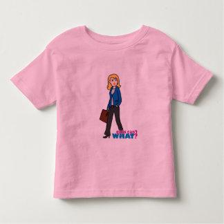 Business Woman - Light/Blonde Toddler T-shirt