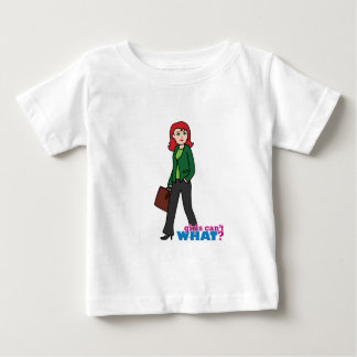 Business Woman Light/Red Baby T-Shirt