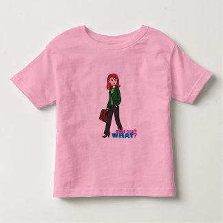 Business Woman Light/Red Toddler T-shirt