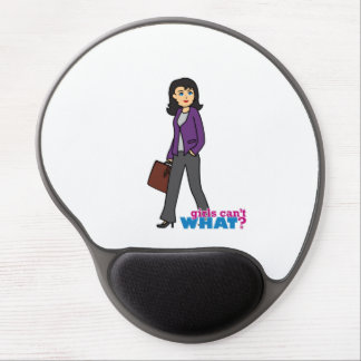 Business Woman - Medium Gel Mouse Pad