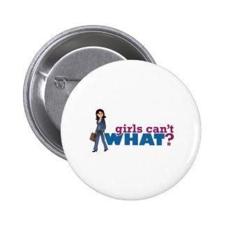 Business Woman Pinback Button