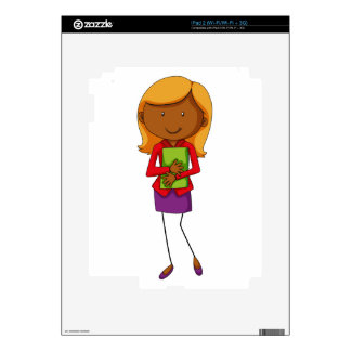 Business woman skins for the iPad 2