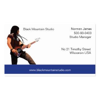 businesscard, Norman James, 500-93-0403, Studio... Business Card