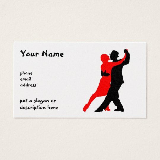 businesscard silhouettes business card