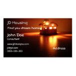 Businesscards de las propiedades inmobiliarias tarjetas de visita