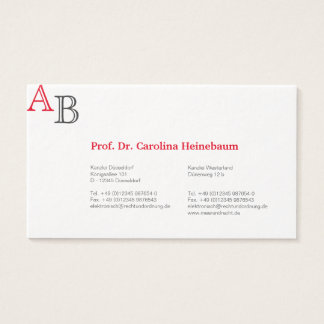 Businesscards for Lawyer Business Card