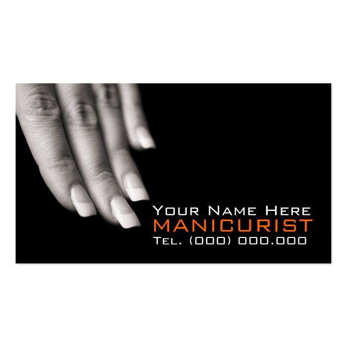 BusinessCards For Nail Salons Business Card