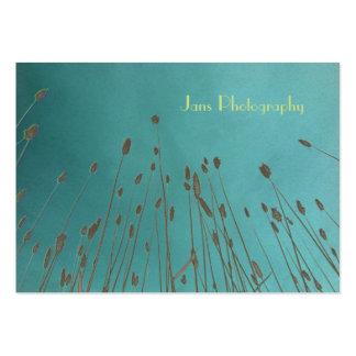 Businesscards template, wheat grass business card templates