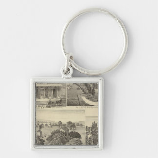 Businesses, residences, San Jose, Mtn View Keychain