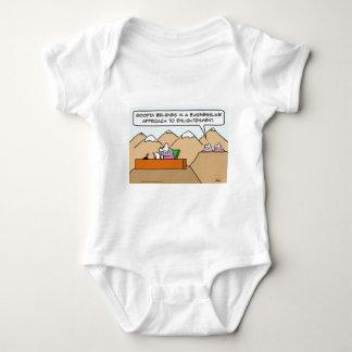 businesslike approach to enlightenment guru baby bodysuit