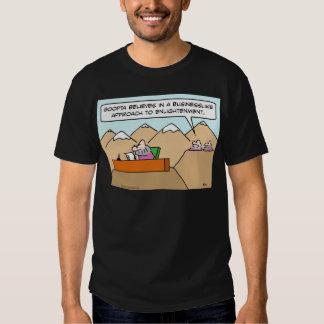 businesslike approach to enlightenment guru shirts