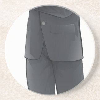 Businessman character coasters