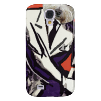 businessman dog galaxy s4 cover