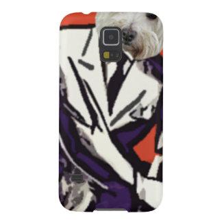 businessman dog galaxy s5 cases