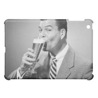 Businessman Drinking Beer iPad Mini Covers