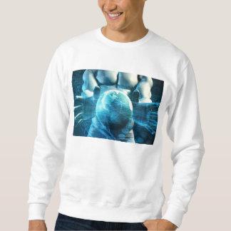 Businessman Executive Holding Globe Sweatshirt
