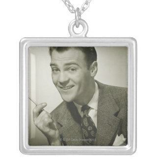 Businessman Personalized Necklace
