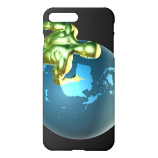 Businessman Pointing at Australia or New Zealand iPhone 8 Plus/7 Plus Case